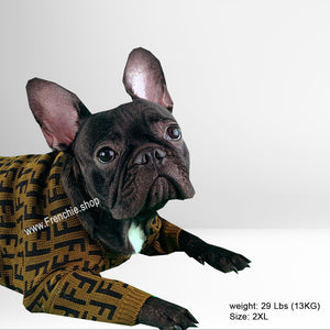 PENDI Sweater for French bulldog (WS64) - Frenchie Bulldog Shop