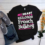 Lilly T-Shirt - Frenchie Bulldog Shop