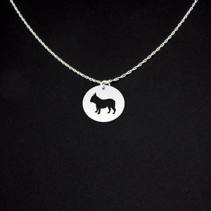 New French Bulldog Necklace