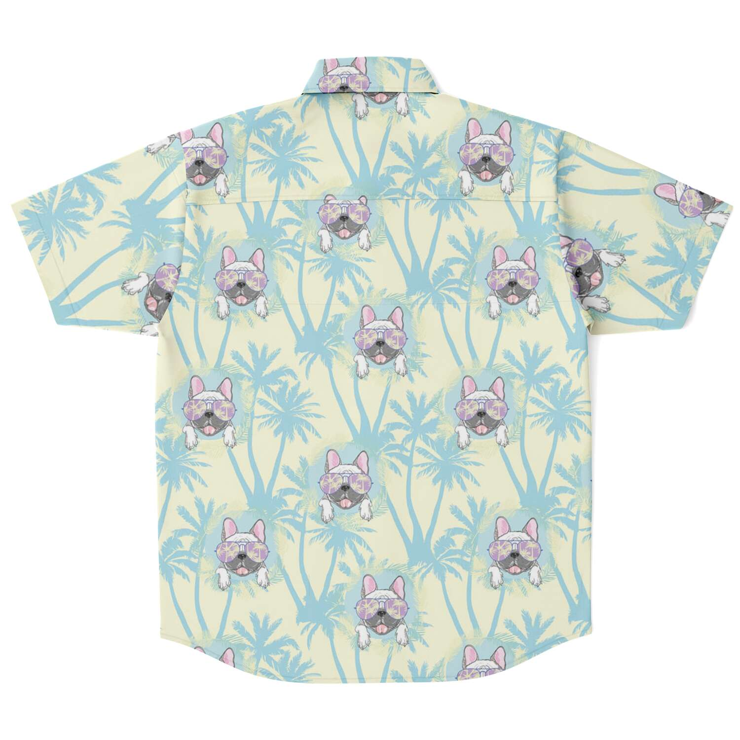 Frankie - Sleeve Button Down Shirt - Frenchie Bulldog Shop