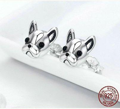French Bulldog Jewelry (Sterling Silver) - frenchie Shop