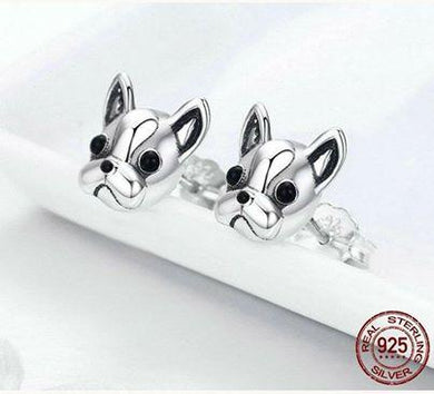 French Bulldog Jewelry (Sterling Silver)