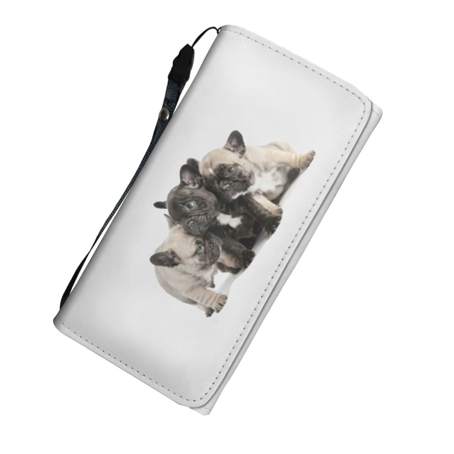 Puppy Frenchie - French Bulldog Women Wallet - frenchie Shop
