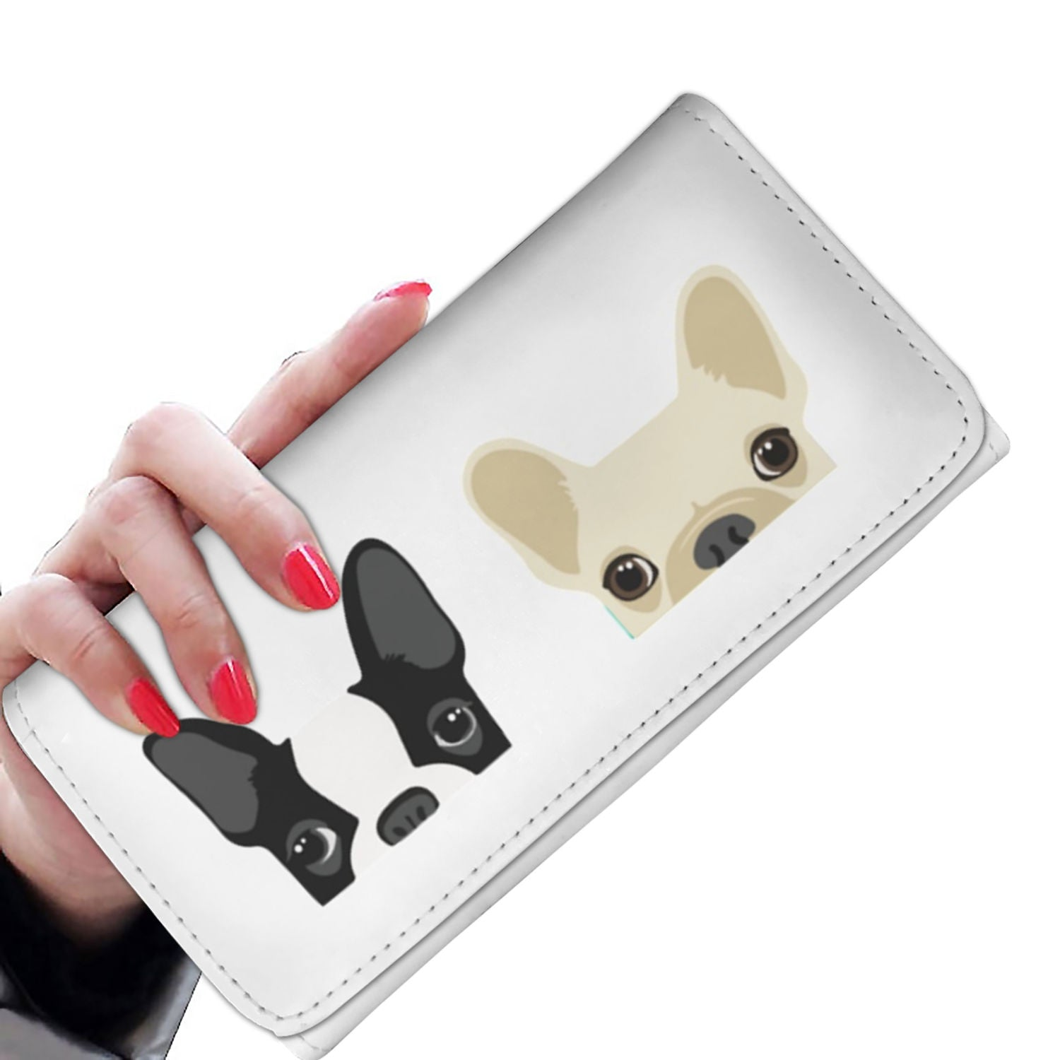 The Two Frenchie - French Bulldog Women Wallet - frenchie Shop