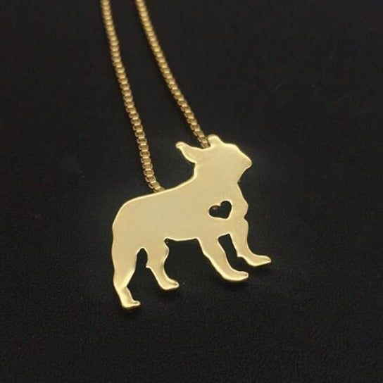 Necklaces for Frenchies lovers - Frenchie Bulldog Shop