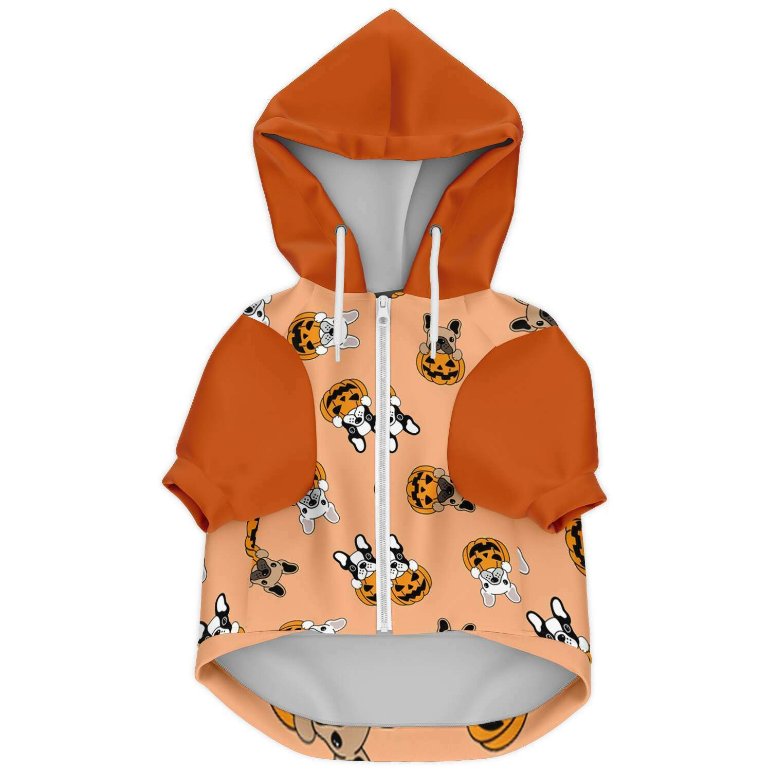 Halloween Time - French Bulldog Hoodie - Frenchie Bulldog Shop