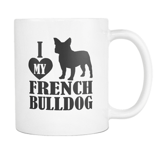 I love my Frenchie - Frenchie Bulldog Shop