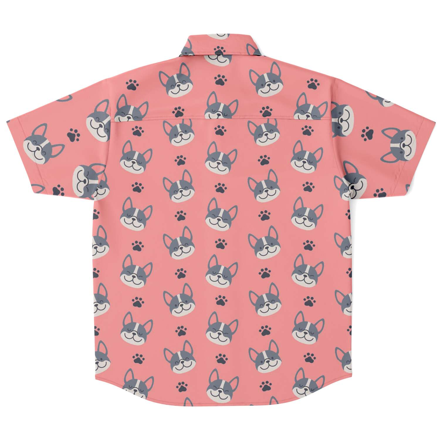 Billy - Sleeve Button Down Shirt - Frenchie Bulldog Shop