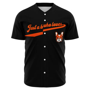 Buster French Bulldog Baseball Jersey - Frenchie Bulldog Shop