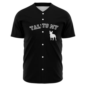 Emma French Bulldog Baseball Jersey - Frenchie Bulldog Shop