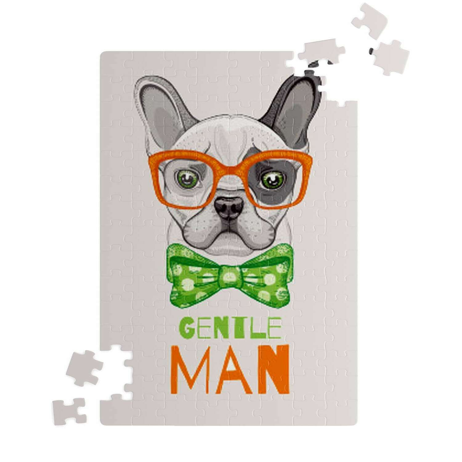 Oliver French Bulldog Puzzle - Frenchie Bulldog Shop