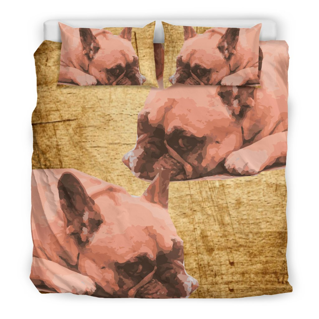 Lazy Frenchie - Bed Sheets - Frenchie Bulldog Shop