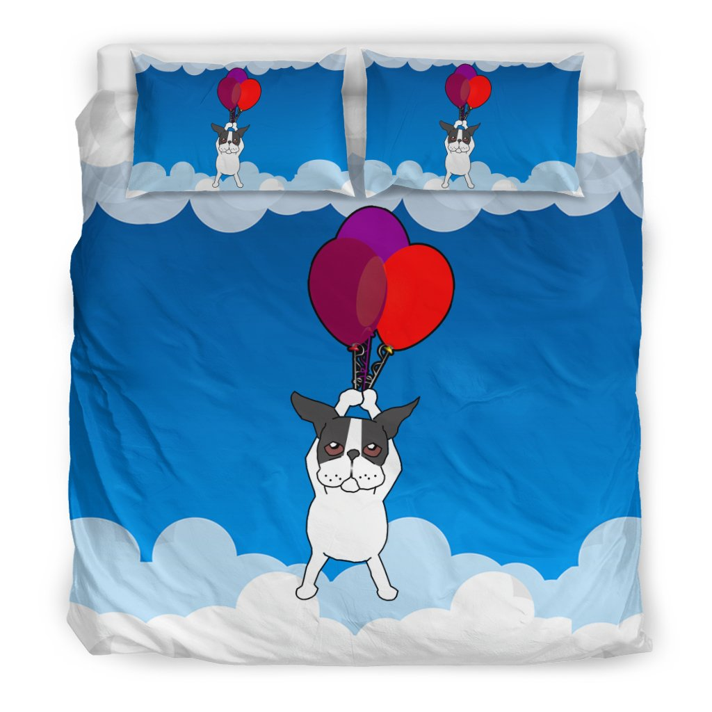 French Bulldog with a Balloon Flying - Frenchie Bulldog Shop