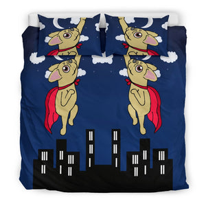 French Bulldog Superhero at Night - Frenchie Bulldog Shop