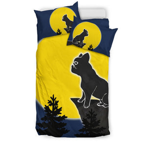 French Bulldog in the Night Moon - Frenchie Bulldog Shop