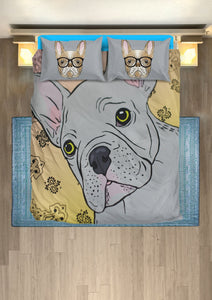 The frenchie Bedding Set