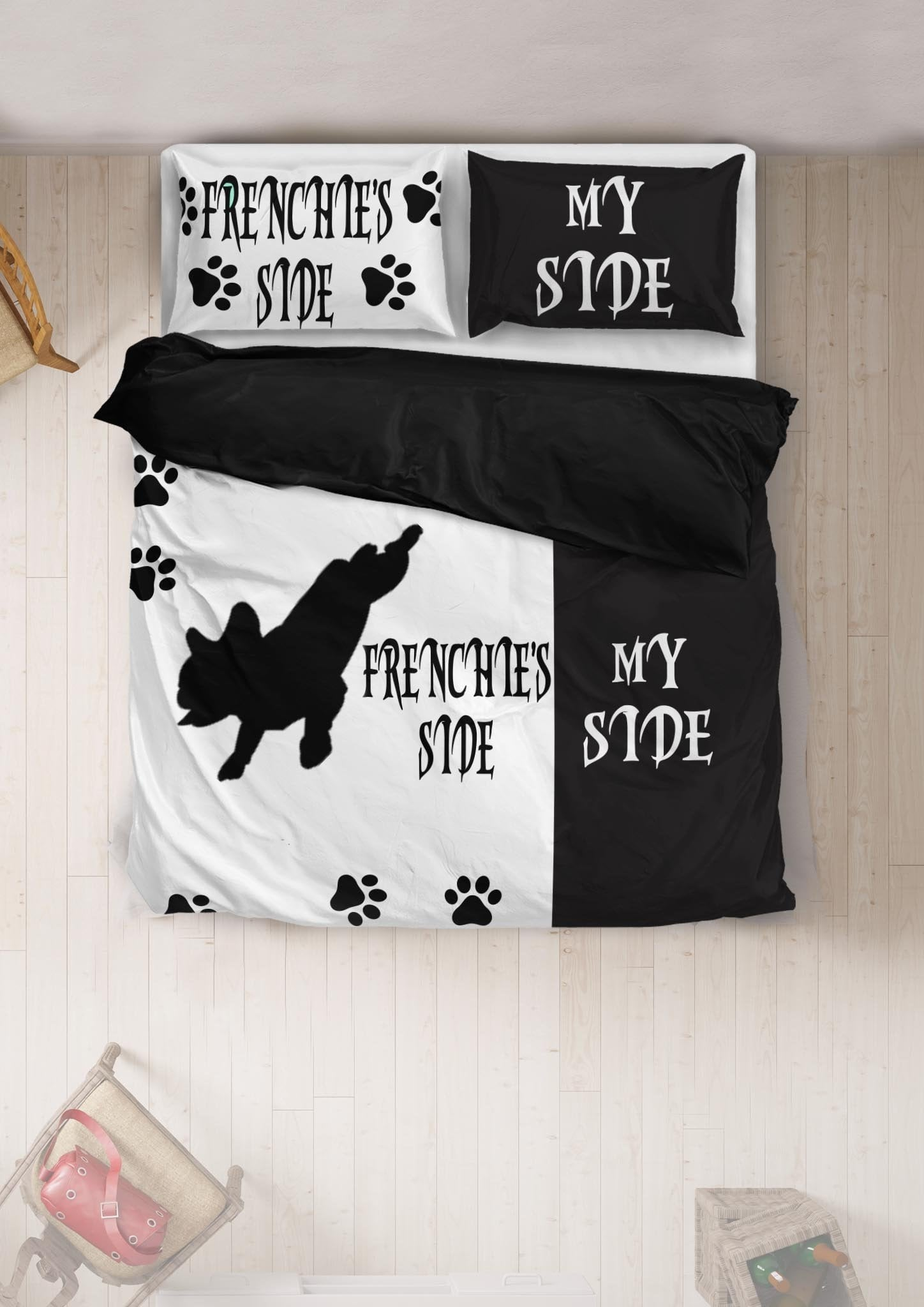 Frenchie's Side - Bedding Set - Frenchie Bulldog Shop