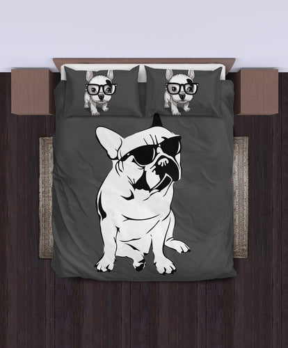 Funny French Bulldog Duvet