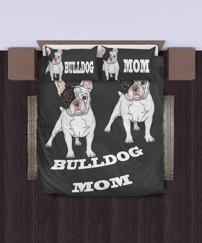 NEW BEDDING SET - BULLDOG MOM