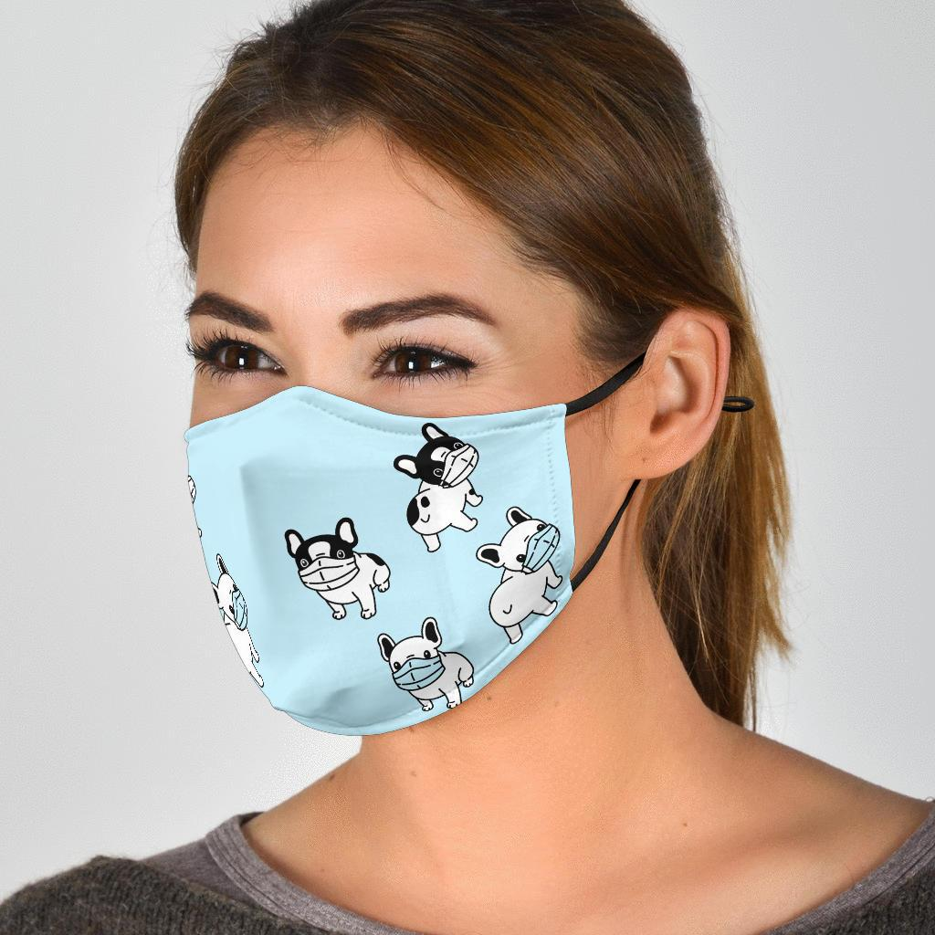 Stay Safe - Fashion Face Mask - Frenchie Bulldog Shop