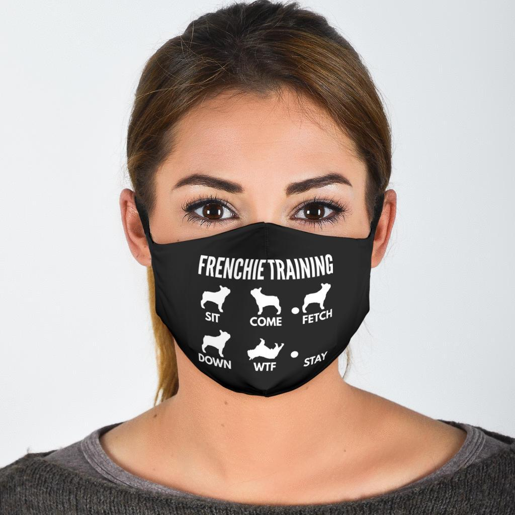Frenchie Training  - Fashion Face Mask
