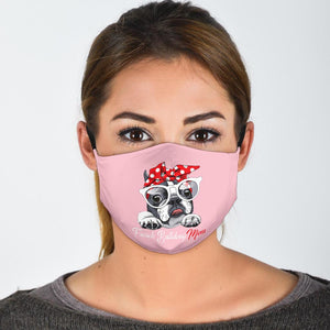 Bulldog Mom - Fashion Face Mask
