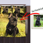 Custom Bed Sheet for french bulldog lovers - Frenchie Bulldog Shop
