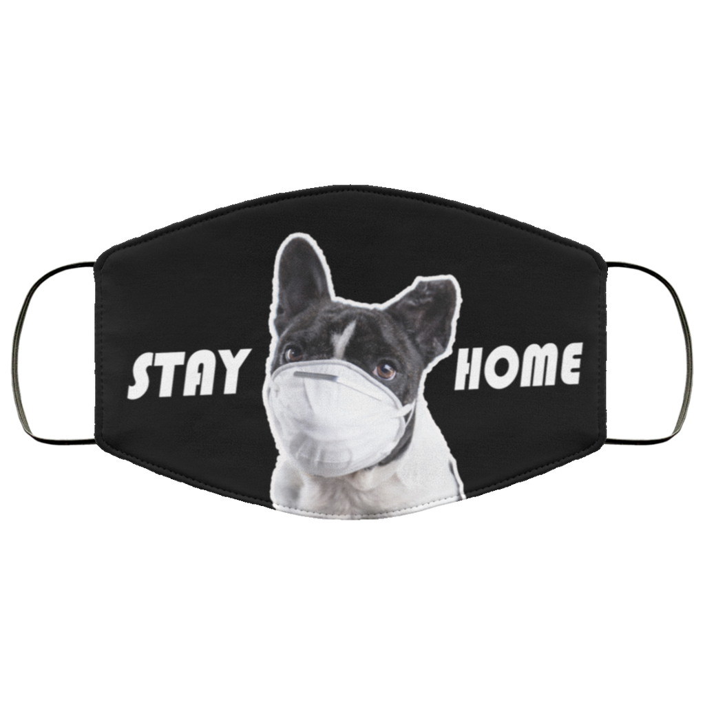 Stay Home - Fashion Face Mask