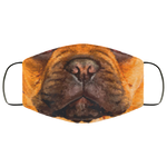 The Face - Fashion Face Mask - Frenchie Bulldog Shop