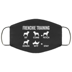 Frenchie Training - Fashion Face Mask - Frenchie Bulldog Shop