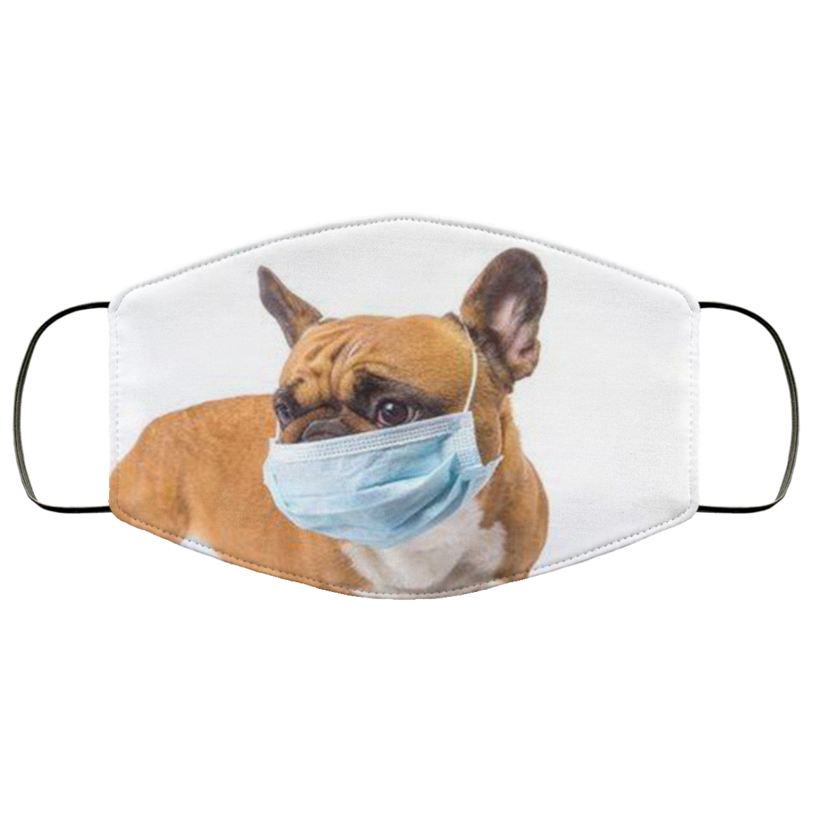 Safe Frenchie - Fashion Face Mask
