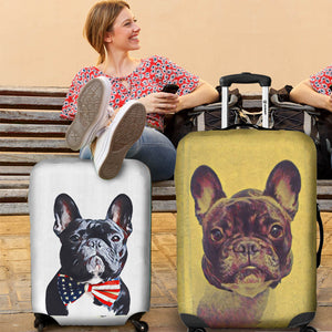 Custom Luggage Covers (suitcase) - frenchie Shop