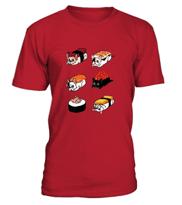 Frenchie Sushi - T-Shirt and Hoodies