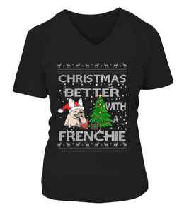 Christmas is Better with a frenchie