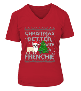 Christmas is Better with a Frenchie 2