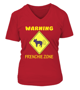 Warning Frenchie Zone - T-shirt and Hoodies