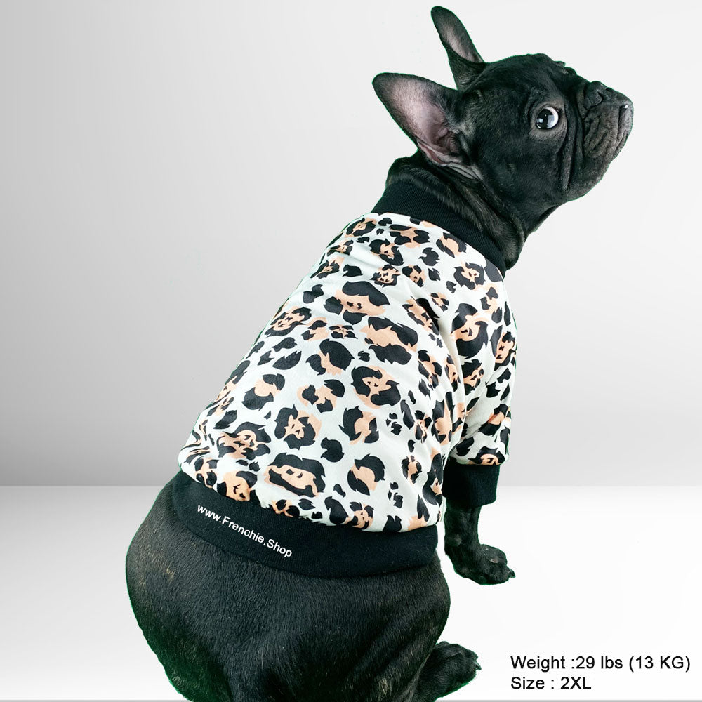 Leopard - French Bulldog Jacket (WS50) - Frenchie Bulldog Shop