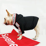 Luxurious Cotton Hoodies for French Bulldog - Frenchie Bulldog Shop