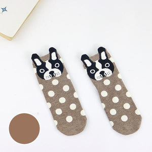 Frenchie Face - Socks - frenchie Shop
