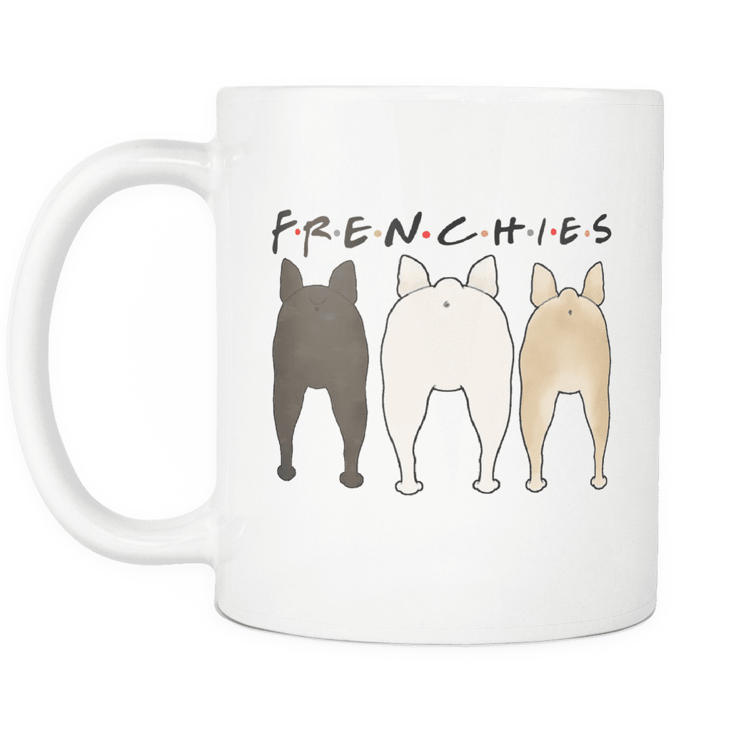 Frenchie Butt - Mug - Frenchie Bulldog Shop