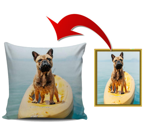 Custom Pillow Covers - frenchie Shop