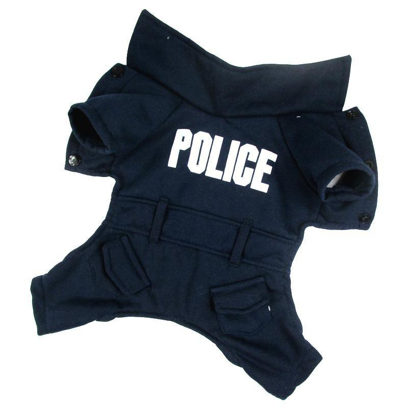 police Dog Clothes  and anchor