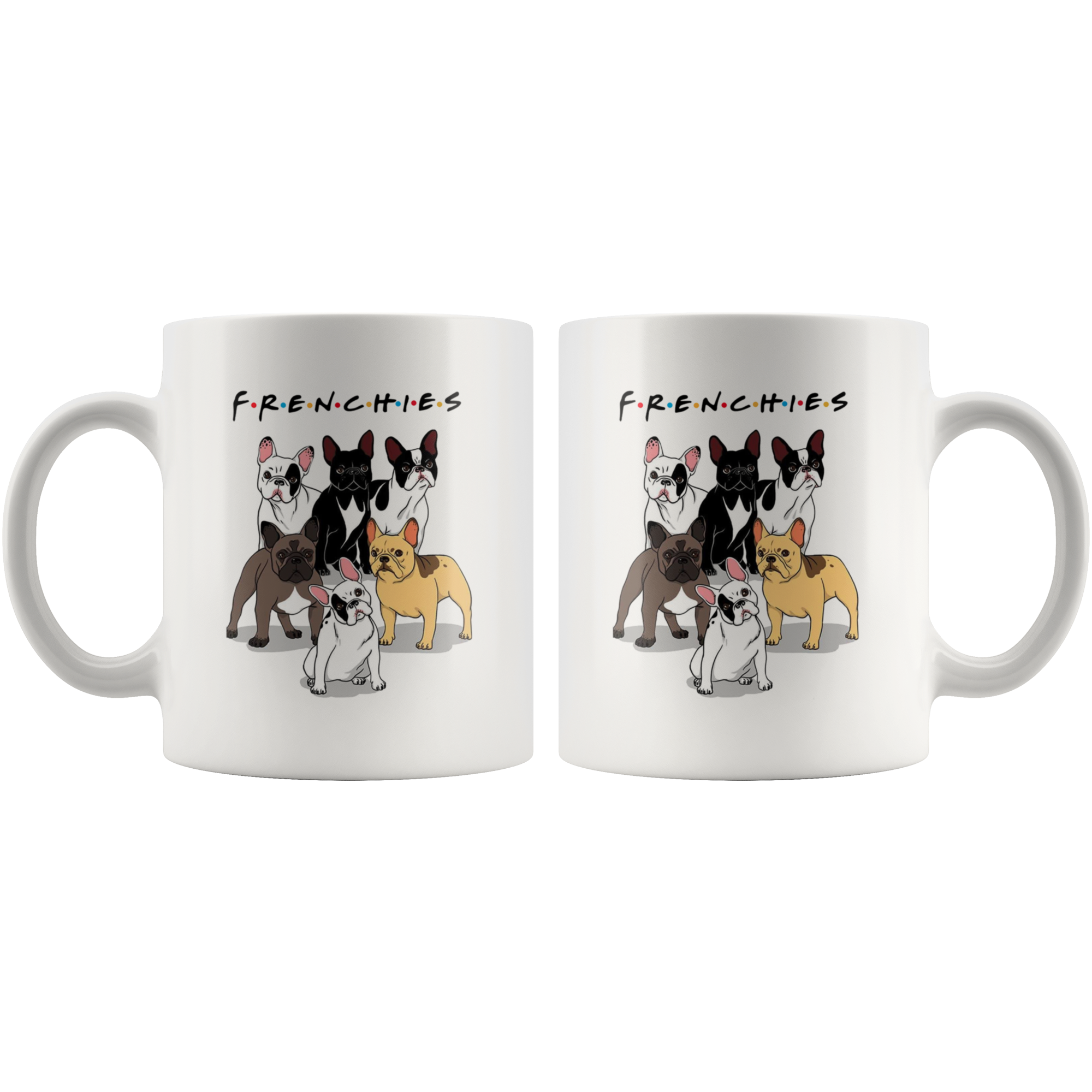 Frenchies - Mug - Frenchie Bulldog Shop