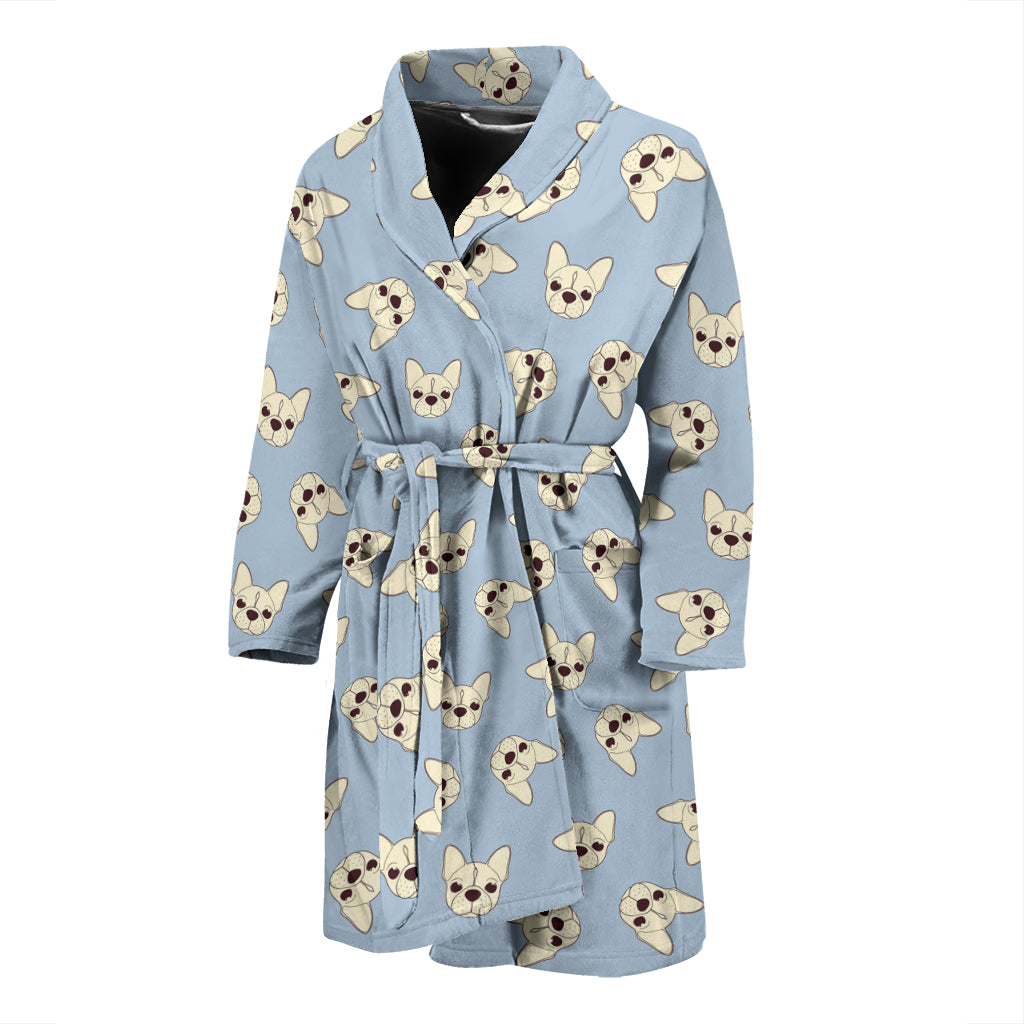 Ollie - Bathrobe Men - Frenchie Bulldog Shop
