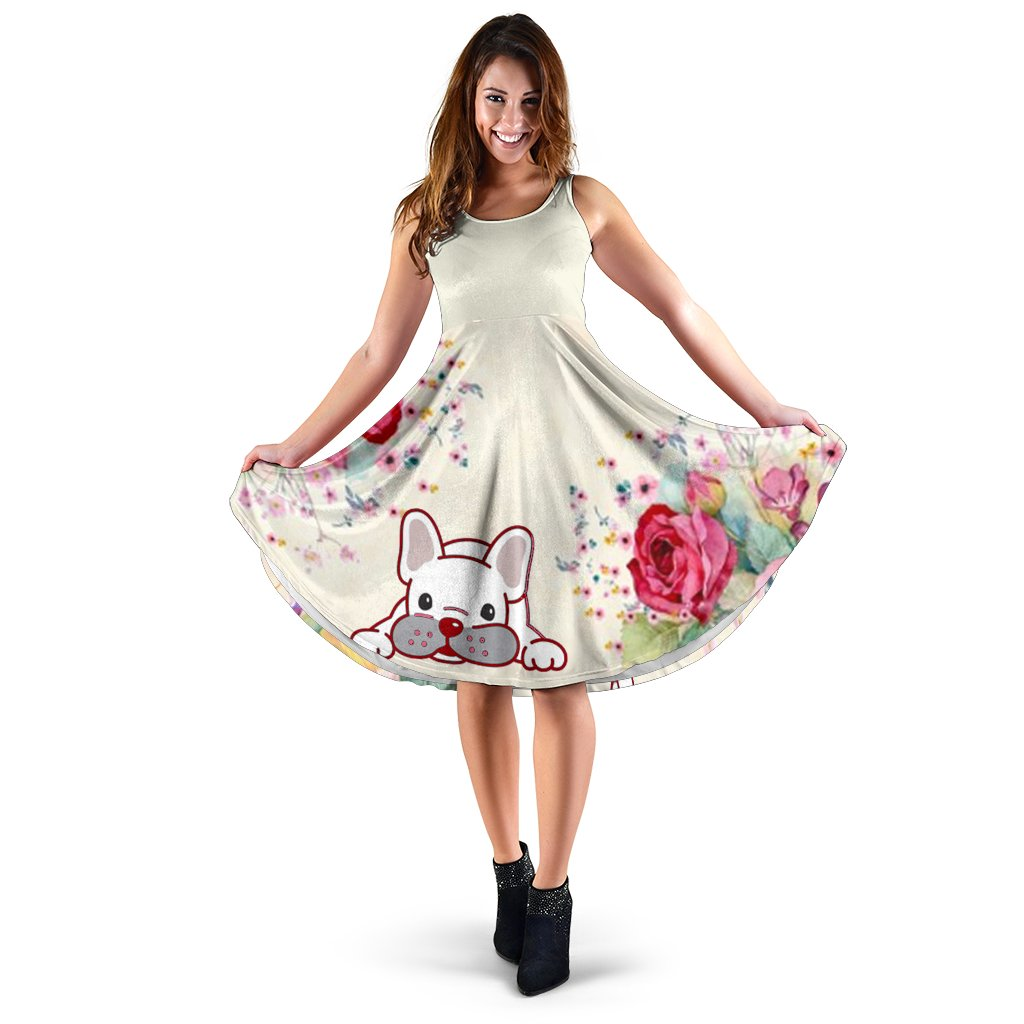 Ziggy - Women Dress - Frenchie Bulldog Shop