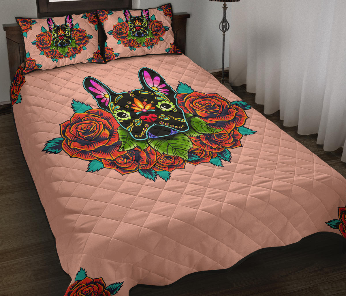 Rockey - Quilt Bed Sets - Frenchie Bulldog Shop