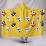 Ruby - Hooded Blanket - Frenchie Bulldog Shop