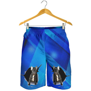 Abstract Frenchie - French Bulldog Men Short - frenchie Shop