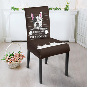 Funny Wanted Frenchie - French Bulldog Dining Chair - frenchie Shop