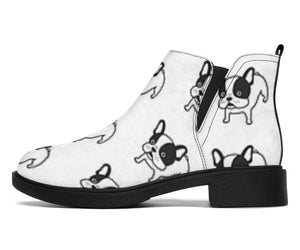 Funny Puppy Frenchie - French Bulldog Fashion Boots - frenchie Shop